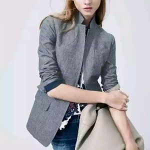 J.Crew Regent Blazer in Chambray
